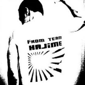 バク転、体操教室チームはじめの団体ロゴ