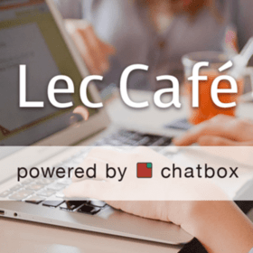 Lec Cafeの団体ロゴ